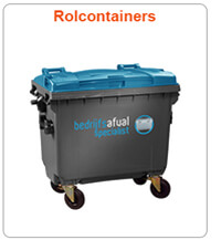 afvalstromen rolcontainers